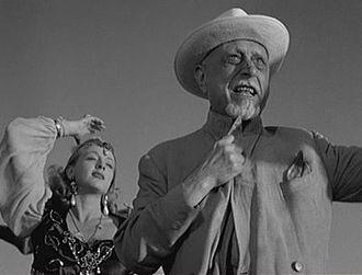 Ernesto Almirante - Almirante in  The White Sheik (1952)