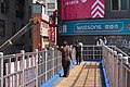 Scene on the Pedestrian overpass over Sanmin Road near Yizhong Street, Taichung 01.jpg