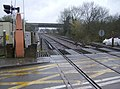 School Lane level crossing, Sheet - geograph.org.uk - 357275.jpg