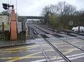 School Lane level crossing, Sheet - geograph.org.uk - 357275.jpg