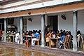 Schoolchildren and Teachers - Lunch Hour - Science Drama Competition Day - BITM - Kolkata 2015-07-22 0454.JPG