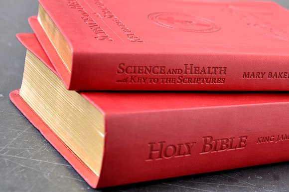 Bible and Science and Health with Key to the Scriptures, Christian Science's central texts Science and Health (Christian Science) and the Bible.jpg