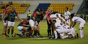 Lebanon national rugby union team - Image: Scrumw w