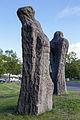 Sculpture Etude I-V Eugene Dodeigne Bruehlstrasse Hanover Germany 01.jpg