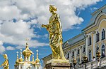 Sculptures on the Grand Cascade of Peterhof 07.jpg