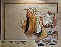Scuola pistoiese, bacio di giuda e cattura di cristo, xiv secolo 01.jpg