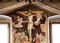 Scuola pistoiese, crocifissione, xiv secolo 02.jpg