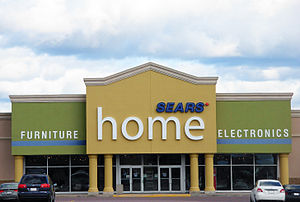 Sears Canada - A former Sears Home location in Moncton, New Brunswick