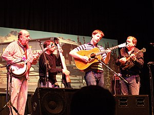 International Bluegrass Music Awards - Members of The Seldom Scene playing at the Rivercity Bluegrass Festival in 2008. The group was inducted into the Bluegrass Music Hall of Fame at the 2014 International Bluegrass Music Awards.