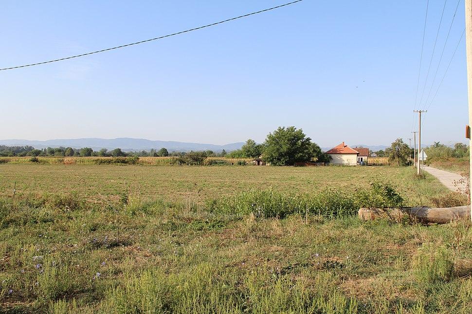 Selo Veselinovac - opština Valjevo - zapadna Srbija - panorama 1