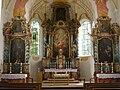 Sendling alte Pfarrkirche St. Margaret Innenraum.JPG