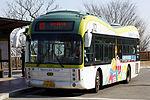 Seoul Bus 02 - Hankuk Fiber(HFG) - e-PRIMUS(Wheelchair Accessible Low-floor) - Namsan Park (16413932618).jpg