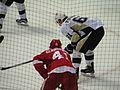Sergei Plotnikov, Detroit Red Wings vs. Pittsburgh Penguins, Joe Louis Arena, Detroit, Michigan (21515860310).jpg