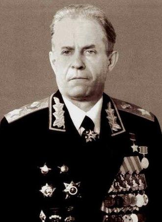 Sergey Akhromeyev - Image: Sergey Akhromeyev (cropped)