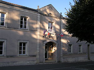 Sers, Charente - Town hall