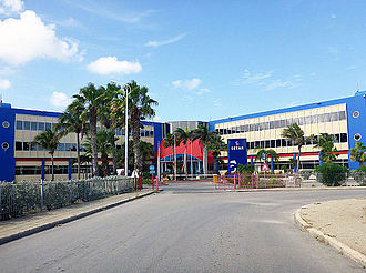 SETAR NV - Setar headquarters in Oranjestad