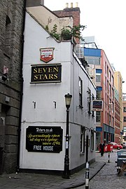 The Seven Stars in Bristol was visited by Clarkson in the course of his research.