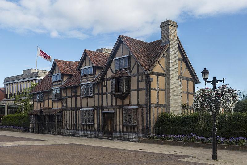File:Shakespeare's Birthplace, Stratford-upon-Avon - Sept 2012.jpg