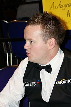 Shaun Murphy at the Paul Hunter Classic 2008.jpg
