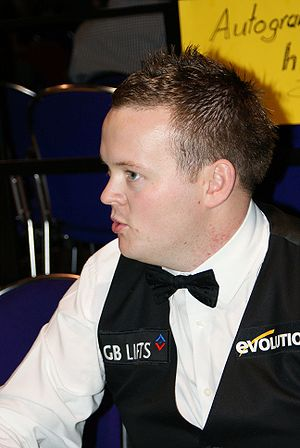 Snooker world rankings 2007/2008 - Image: Shaun Murphy at the Paul Hunter Classic 2008