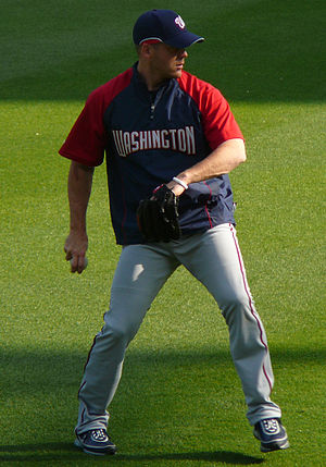Shawn Hill - Hill with the Washington Nationals in 2008