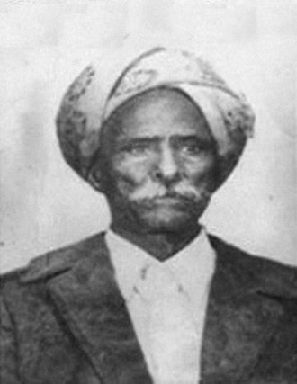 Somali aristocratic and court titles - Sheikh Ali Ayanle Samatar, a prominent Islamic leader.
