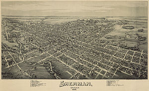 Sherman, Texas - Sherman in 1891