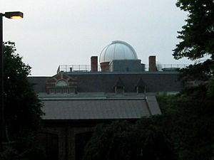 Eastern Michigan University College of Arts and Sciences - Sherzer Observatory