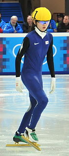Shim Suk-hee South Korean speed skater