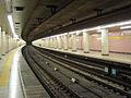 Shintomicho Station platform 2006.jpg