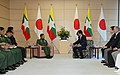 Shinzo Abe and Min Aung Hlaing 2017 (2).jpg