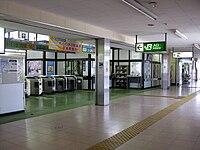 Shiraoka Station-Ticket gate.JPG