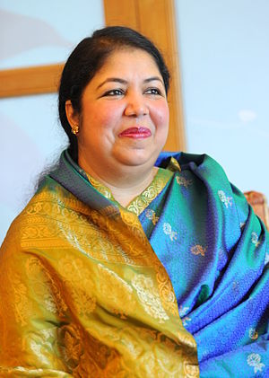 Speaker of the Jatiya Sangsad - Image: Shirin Sharmin Chaudhury