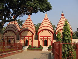 The side view of the National Temple of Bangladesh