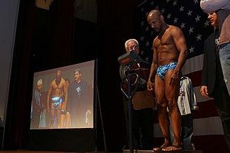 Shonie Carter - Image: Shonie Carter Weigh In USMC Photo