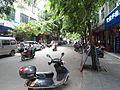 Shopping street in downtown Dingcheng, Ding'an, Hainan, China - 01.JPG