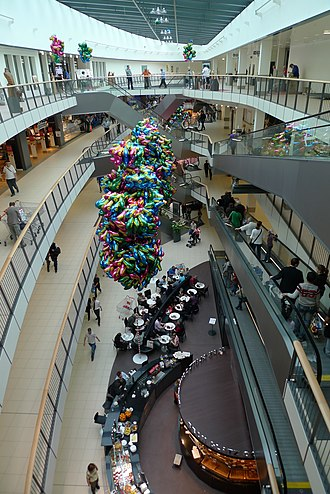 Urtenen-Schönbühl - Interior of the Shoppyland shopping complex in Schönbühl
