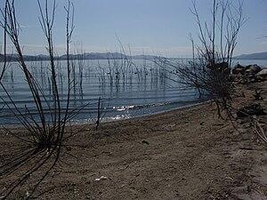 Lake Elsinore - Shore of Lake Elsinore.