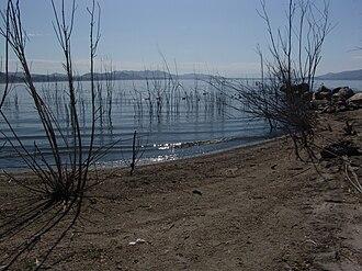 Lake Elsinore - Shore of Lake Elsinore