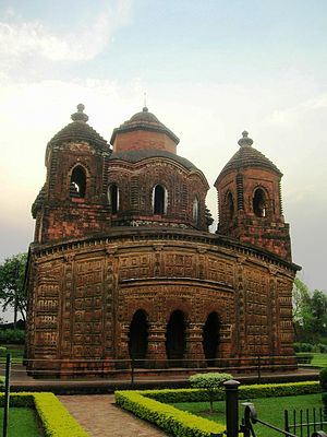 Mallabhum - Image: Shyam Ray Temple in Bishnupur
