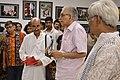 Shyamal Kumar Sen Unveiling 43rd PAD Group Exhibition Pulication - Kolkata 2017-06-20 0228.JPG
