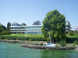 UEFA's headquarters in Nyon, Switzerland.