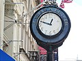 Sidewalk Clock on Jamaica Ave in Queens, NY 01.jpg