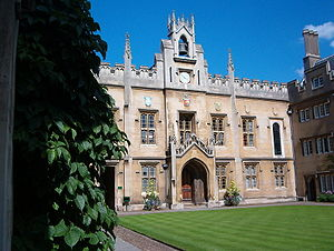 Sidney Street, Cambridge - Sidney Sussex College Chapel Court, on Sidney Street.