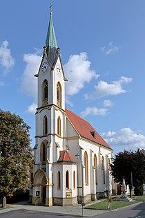 Siebenhirten (Mistelbach) - Kirche.JPG