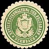 Siegelmarke Betriebsverwaltung der Feldabahn - Dermbach W0220088.jpg