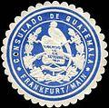 Siegelmarke Consulado de Guatemala - Frankfurt - Main W0223544.jpg
