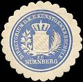 Siegelmarke Directorium der K.B. Kunstgewerbeschule zu Nürnberg W0251183.jpg