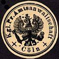 Siegelmarke Königlich Preussische Amtsanwaltschaft - Cöln W0227934.jpg