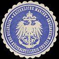 Siegelmarke Kaiserliche Marine - Inspektion der Küstenartillerie und des Minenwesens W0239793.jpg